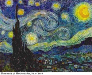 Starry Night, por Vincent Van Gogh