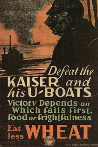 defeat-the-kaiser-and-his-u-boats-eat-less-wheat-wwi-war-propaganda-art-print-poster
