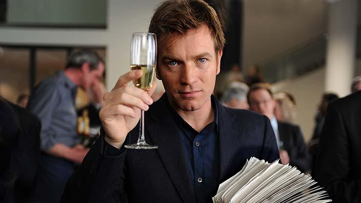 Ewan McGregor en The Ghost Writer